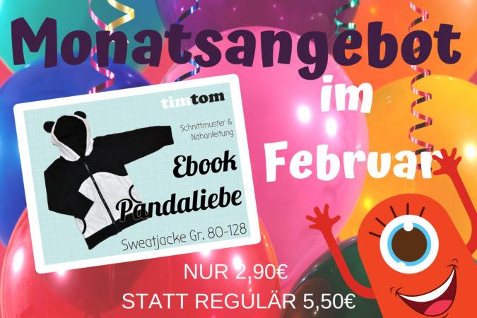 Monatsangebot im Februar 2019 - Ebook Pandaliebe nur 2,90€ statt 5,50€