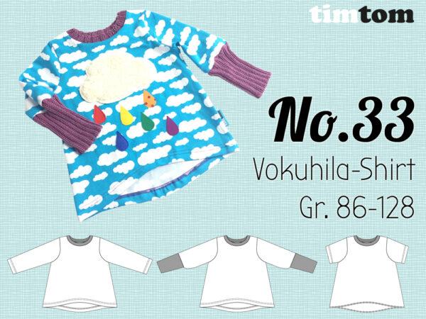 Schnittmuster Vokuhila Shirt
