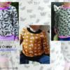 Designbeispiele zum Girly Sweatshirt timtom No.40, genäht von Kathi Cramer