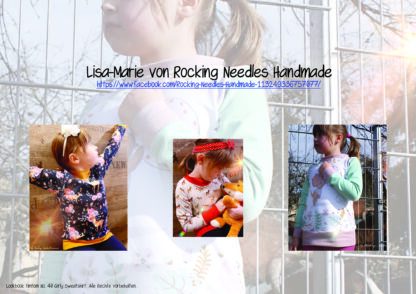 Designbeispiele zum Girly Sweatshirt timtom No.40, genäht von Lisa-Marie von Rocking Needles Handmade