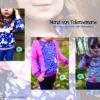 Designbeispiele zum Girly Sweatshirt timtom No.40, genäht von Maria von Tollensemarie