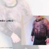 Designbeispiel zum Girly Sweatshirt timtom No.40, genäht von Sandra Lembck