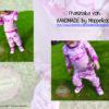 Designbeispiel zum Girly Sweatshirt timtom No.40, genäht von Franziska von HANDMADE by Moppelkopf