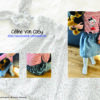 Designbeispiel zum Paperbag-Rock timtom No.41, genäht von Céline von CoSy